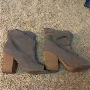 Chinese Laundry peep toe bootie